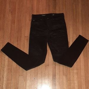 AG THE FARRAH SKINNY  black